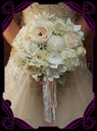 silk pastel bouquet