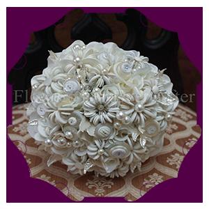 Button & Origami Bouquets