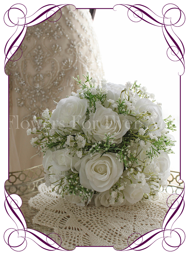 Alexis white flowers for ever after artificial wedding flower alexis white flowers for ever after artificial wedding flower designs mightylinksfo Gallery