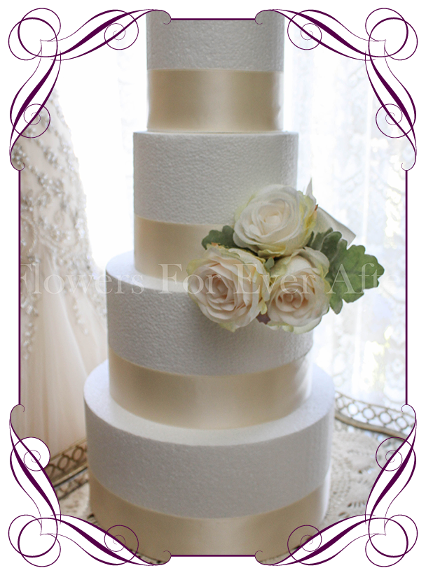 Vera Cake Decoration Flowers For Ever After Artificial Wedding