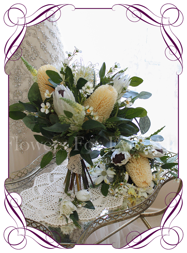 Edna Package Flowers For Ever After Artificial Wedding Flower