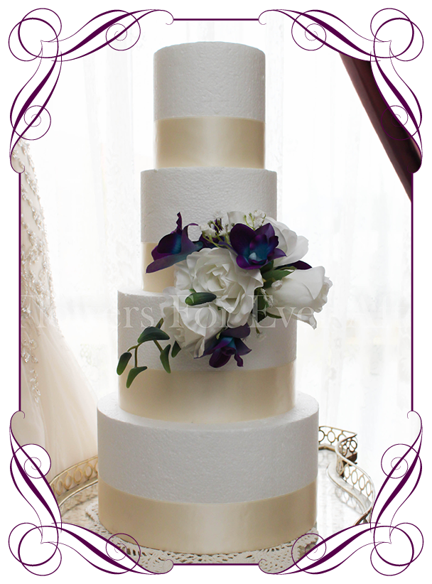 artificial wedding cake flowers breanna cake flowers flowers for after artificial 10846
