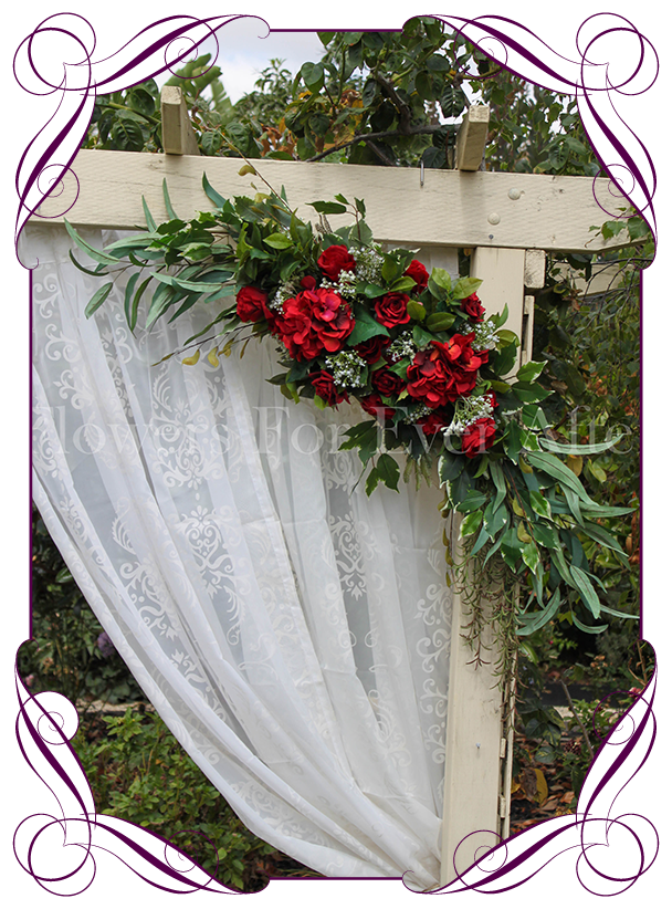 Kristy Arbor Arch Corner Decoration Flowers For Ever After