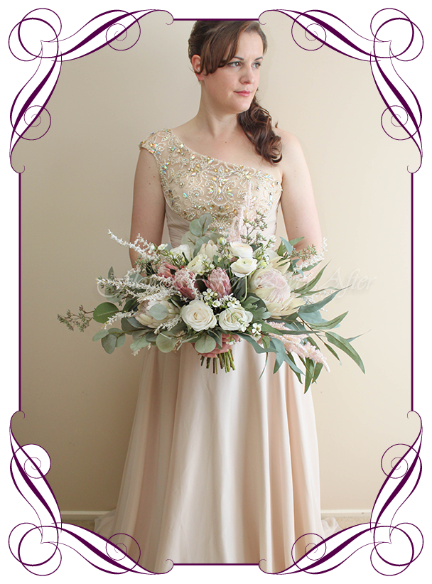 Isobel Bridal Package Gorgeous Artificial Bridal Bouquets