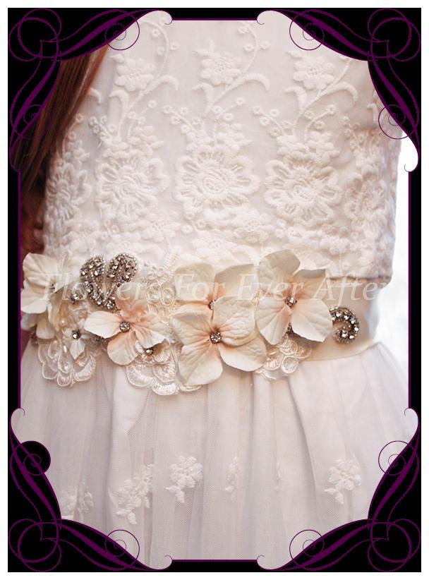 Gabriella Bridal Sash Belt Gorgeous Artificial Bridal Bouquets