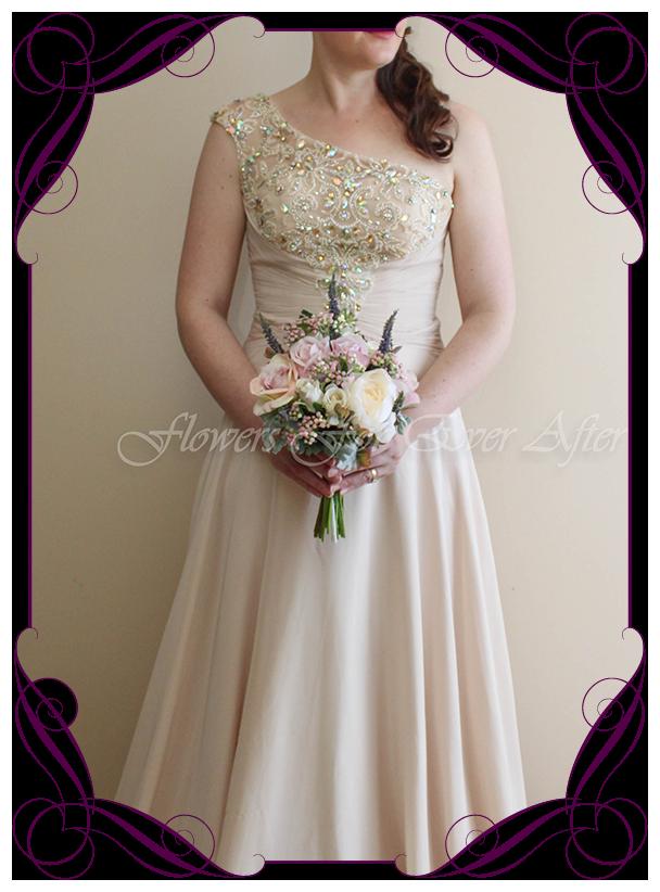 Samantha Bridesmaid Bouquet Gorgeous Artificial Bridal Bouquets
