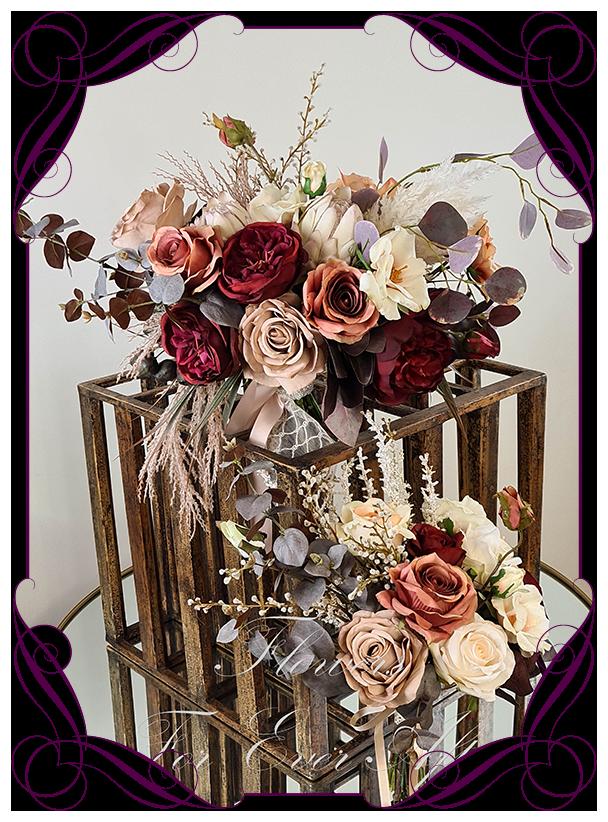 Bridesmaid Bouquet Boutonnieres Custom Order Bridal Bouquet Faux Bouquet Custom Order Bridal Flowers, Corsages Arch Piece